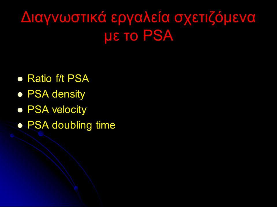 Διαγνωστικά εργαλεία σχετιζόμενα με το PSA