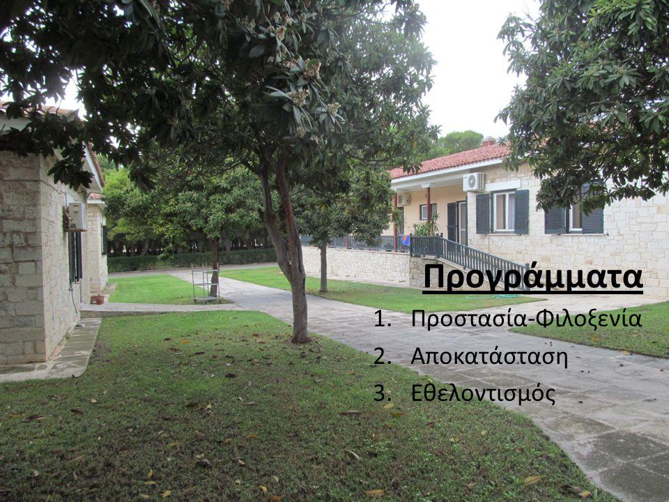 Προγράμματα Προστασία-Φιλοξενία Αποκατάσταση Εθελοντισμός