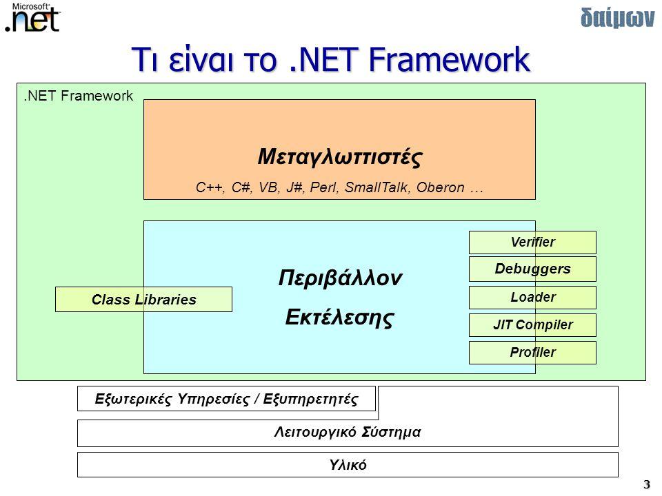 Τι είναι το .NET Framework