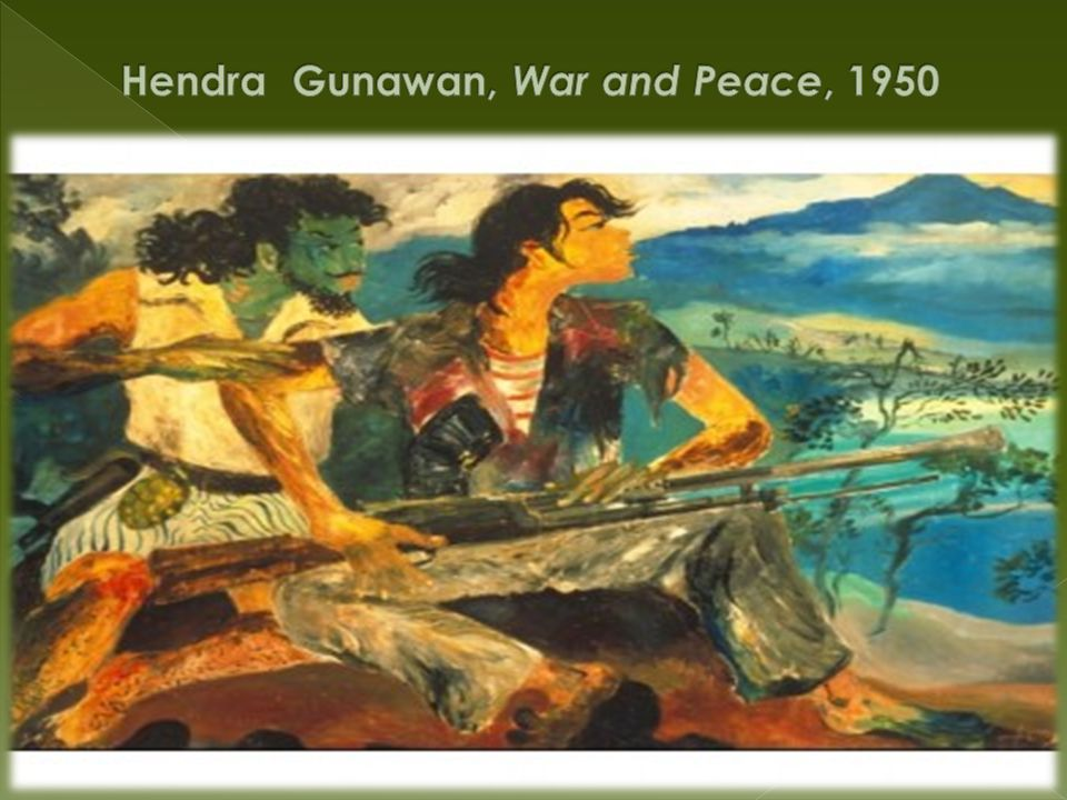 Hendra Gunawan, War and Peace, 1950