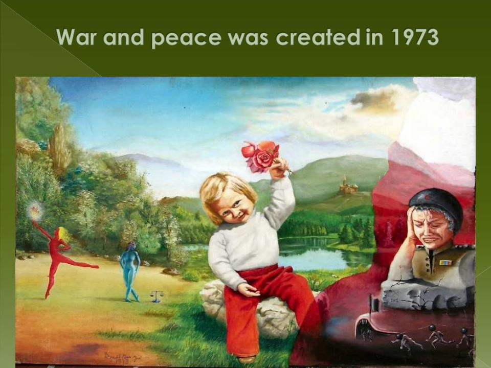 War and peace was created in 1973