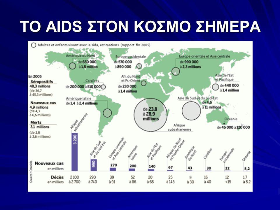 ΤΟ AIDS ΣΤΟΝ ΚΟΣΜΟ ΣΗΜΕΡΑ