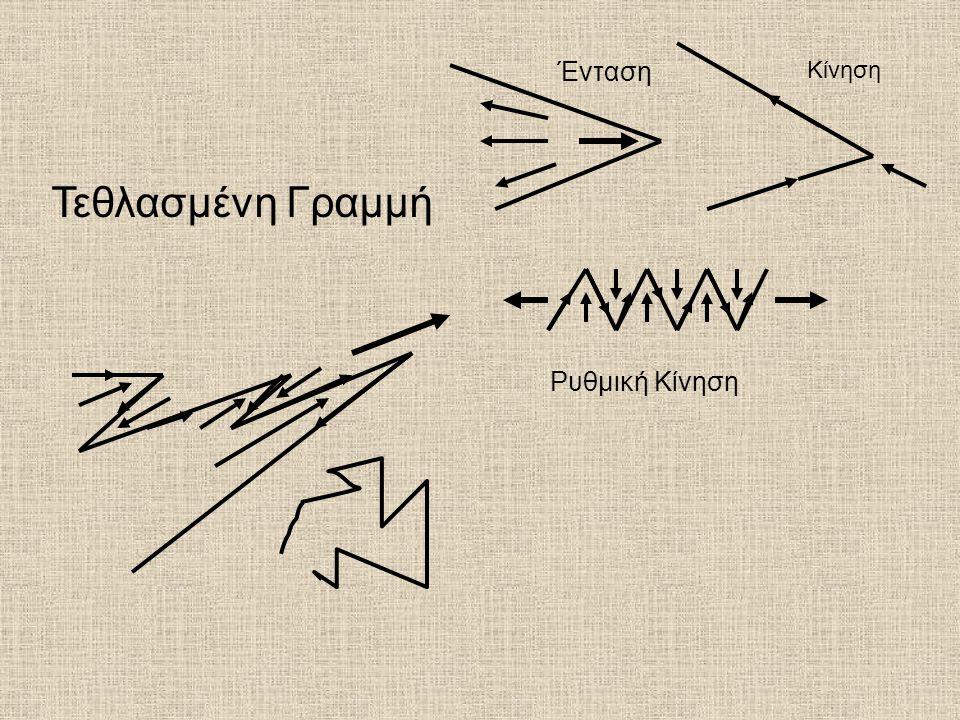Ένταση Κίνηση Τεθλασμένη Γραμμή Ρυθμική Κίνηση