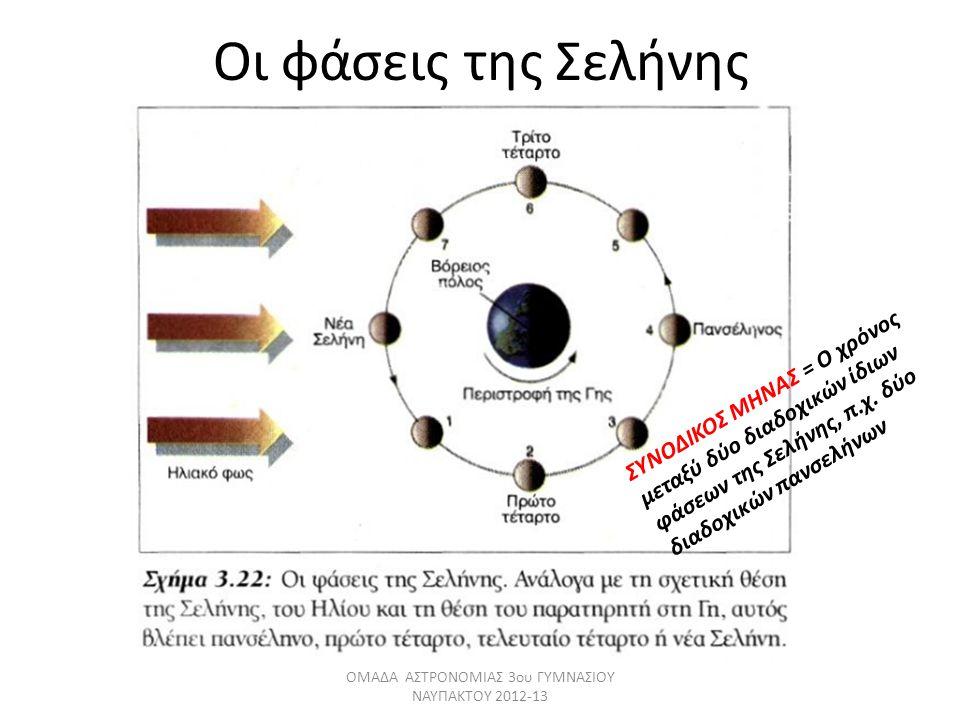 ΟΜΑΔΑ ΑΣΤΡΟΝΟΜΙΑΣ 3ου ΓΥΜΝΑΣΙΟΥ ΝΑΥΠΑΚΤΟΥ 2012-13