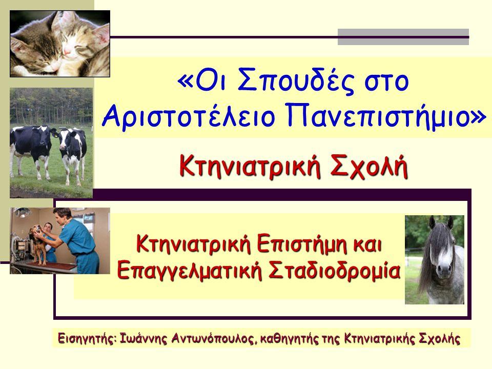 «Οι Σπουδές στο Αριστοτέλειο Πανεπιστήμιο»