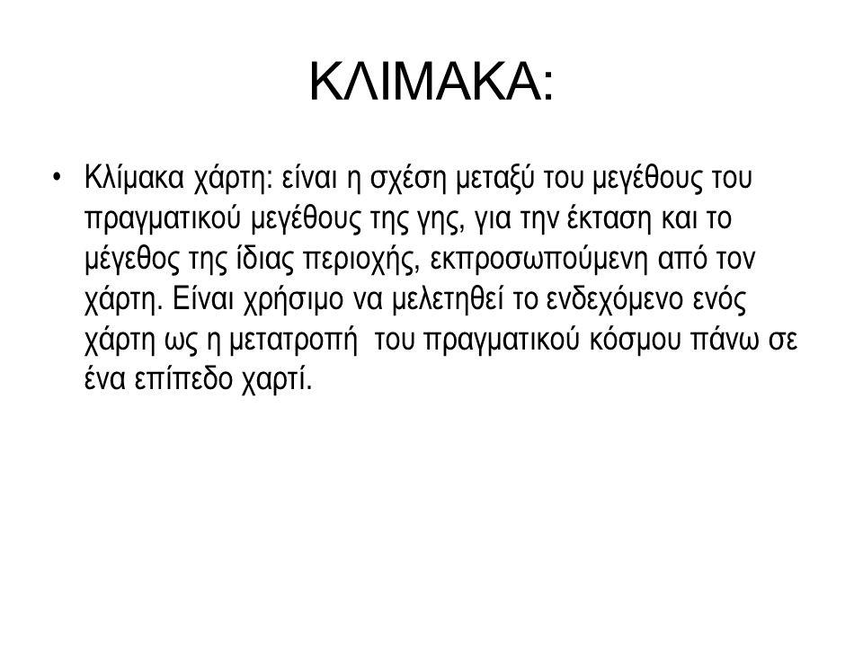 ΚΛΙΜΑΚΑ: