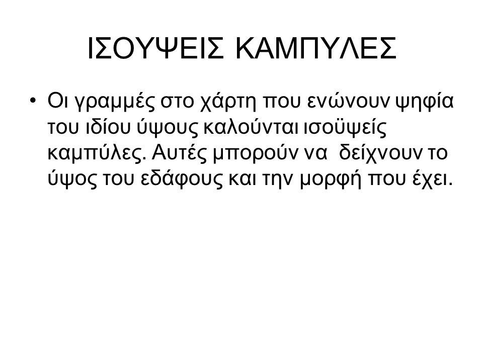 ΙΣΟΥΨΕΙΣ ΚΑΜΠΥΛΕΣ