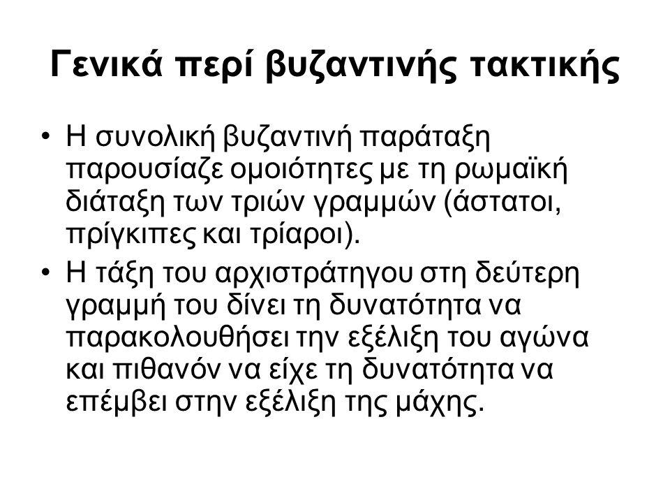 Γενικά περί βυζαντινής τακτικής
