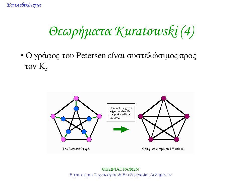 Θεωρήματα Kuratowski (4)