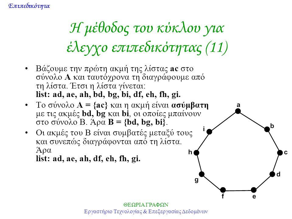Η μέθοδος του κύκλου για έλεγχο επιπεδικότητας (11)
