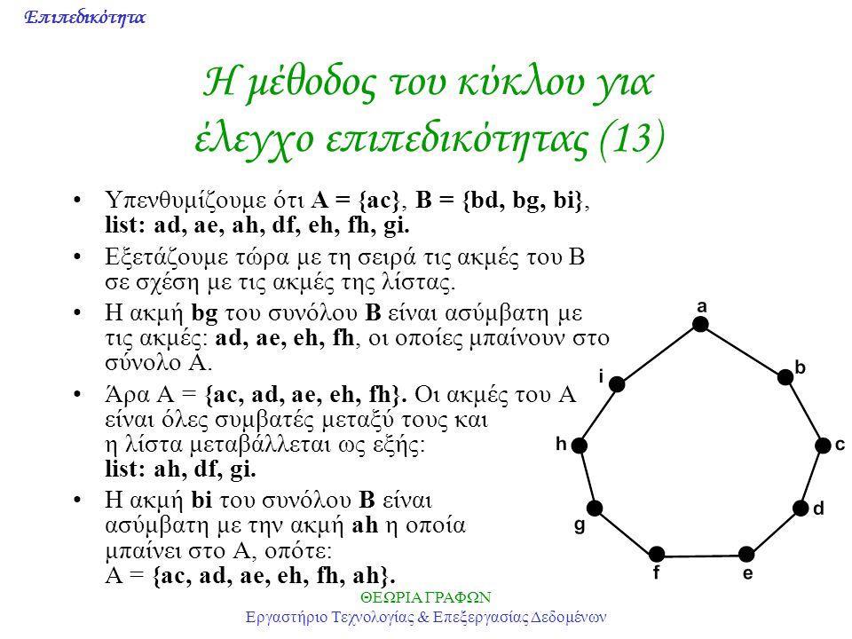 Η μέθοδος του κύκλου για έλεγχο επιπεδικότητας (13)