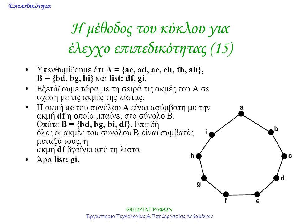 Η μέθοδος του κύκλου για έλεγχο επιπεδικότητας (15)