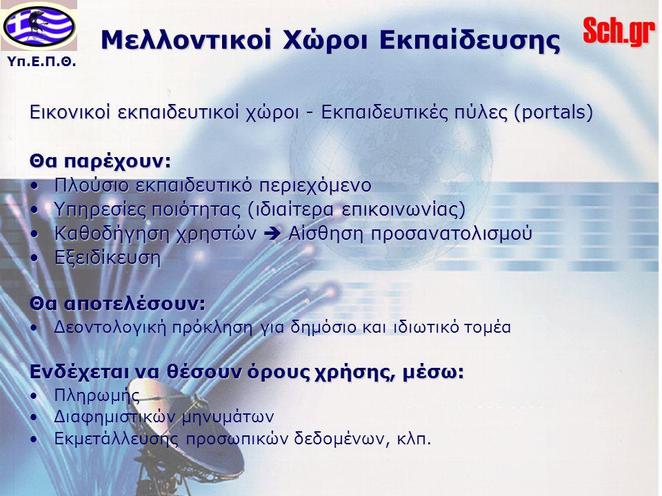 Μελλοντικοί Χώροι Εκπαίδευσης