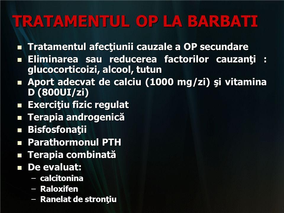 TRATAMENTUL OP LA BARBATI