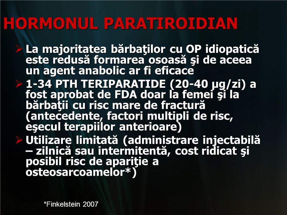 HORMONUL PARATIROIDIAN
