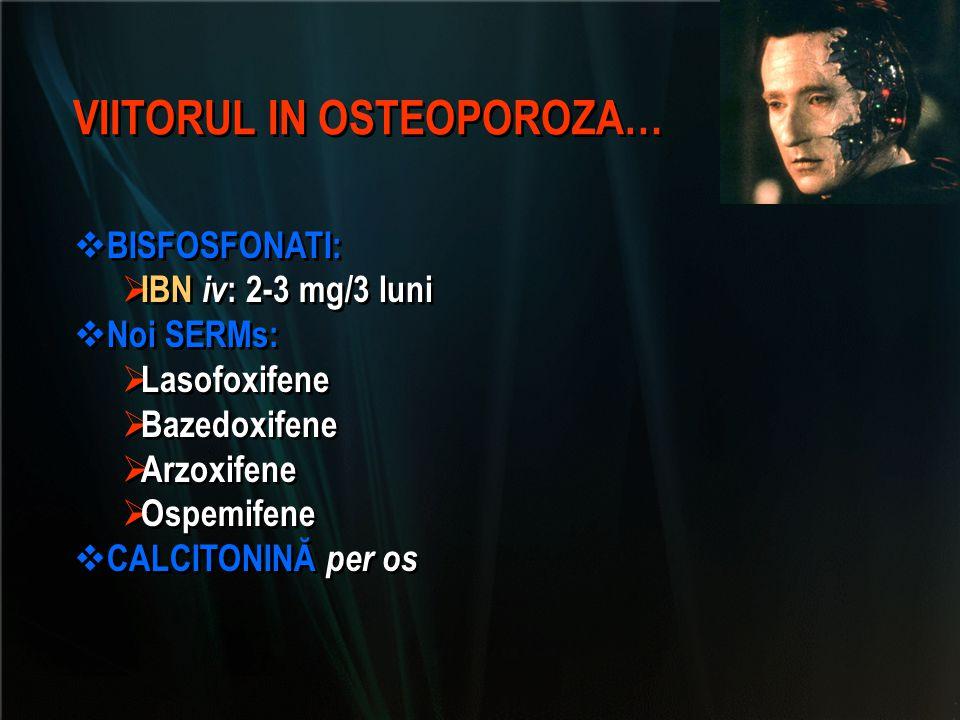 VIITORUL IN OSTEOPOROZA…
