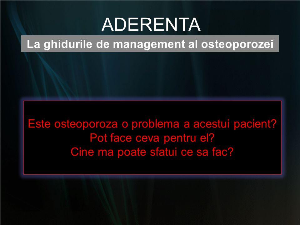 La ghidurile de management al osteoporozei