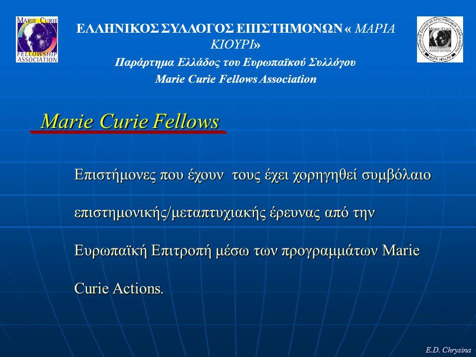 Marie Curie Fellows