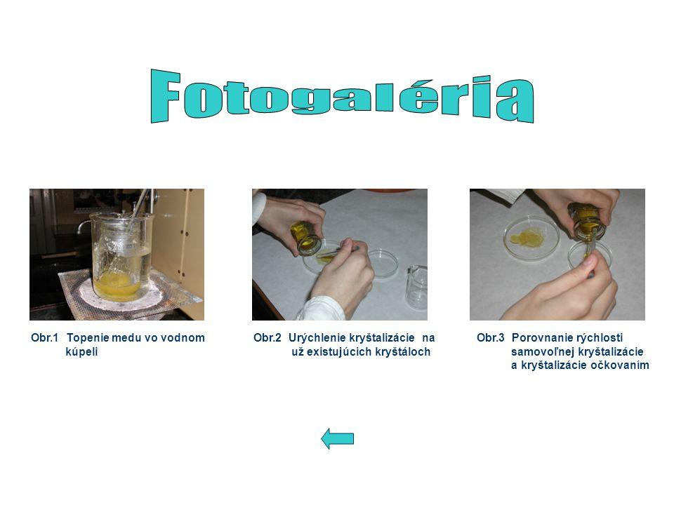 Fotogaléria Obr.1 Topenie medu vo vodnom kúpeli