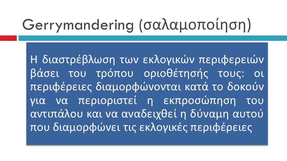 Gerrymandering (σαλαμοποίηση)