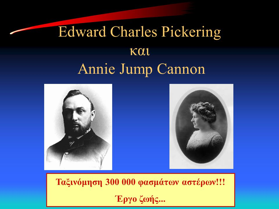 Edward Charles Pickering και Annie Jump Cannon