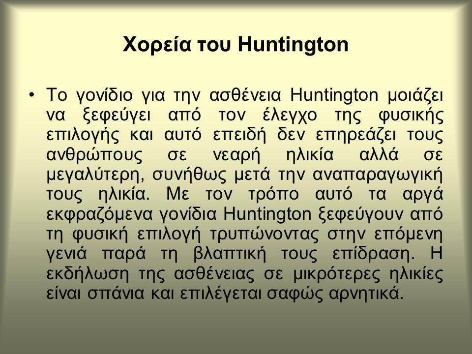 Χορεία του Huntington