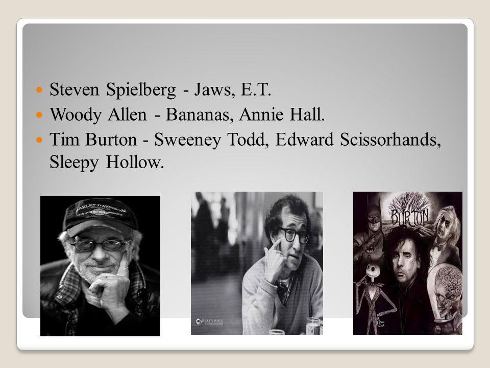 Steven Spielberg - Jaws, E.T.