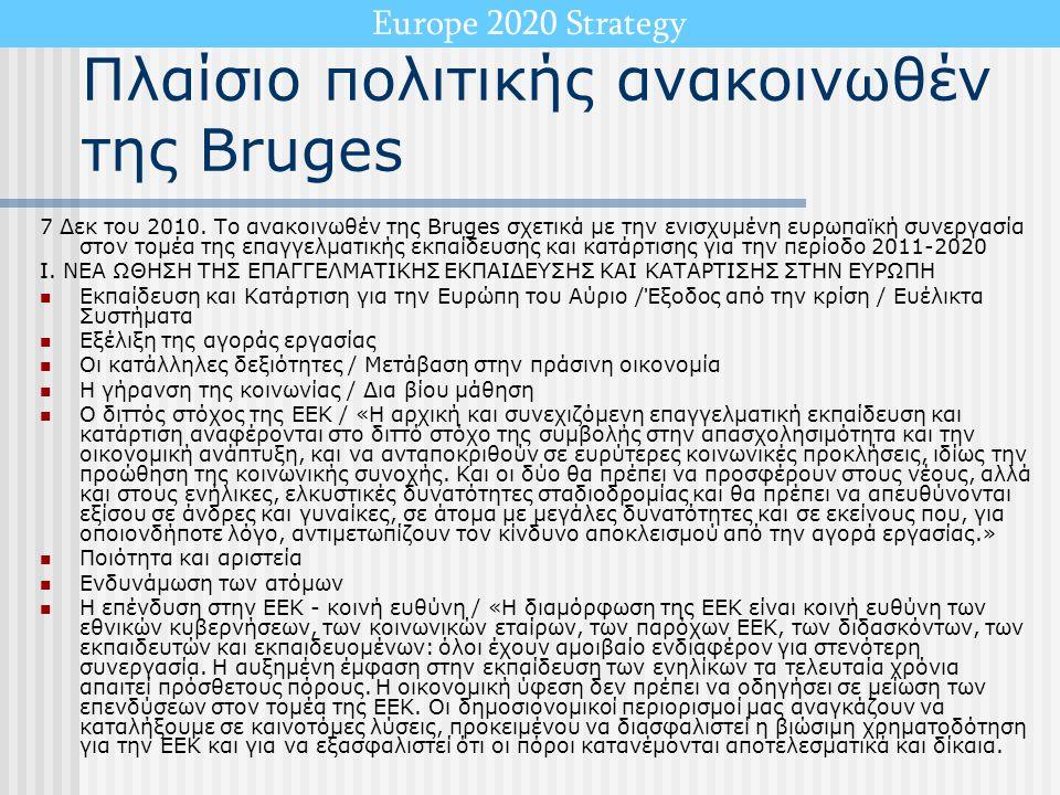 Πλαίσιο πολιτικής ανακοινωθέν της Bruges
