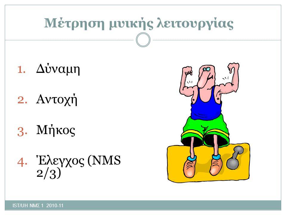 Μέτρηση μυικής λειτουργίας