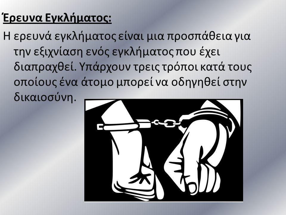 Έρευνα Εγκλήματος: