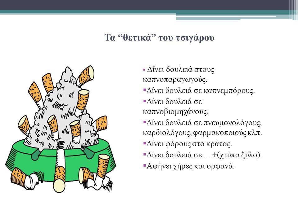 Τα θετικά του τσιγάρου