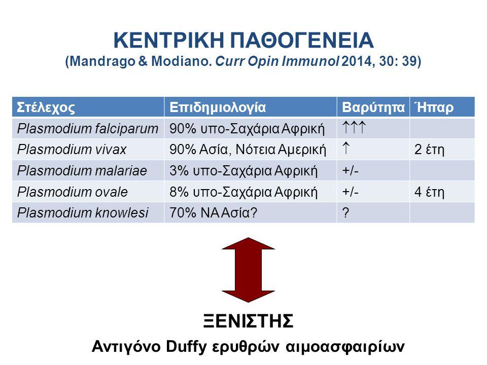 Αντιγόνο Duffy ερυθρών αιμοασφαιρίων