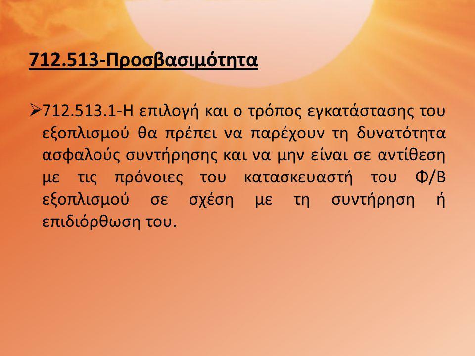 712.513-Προσβασιμότητα