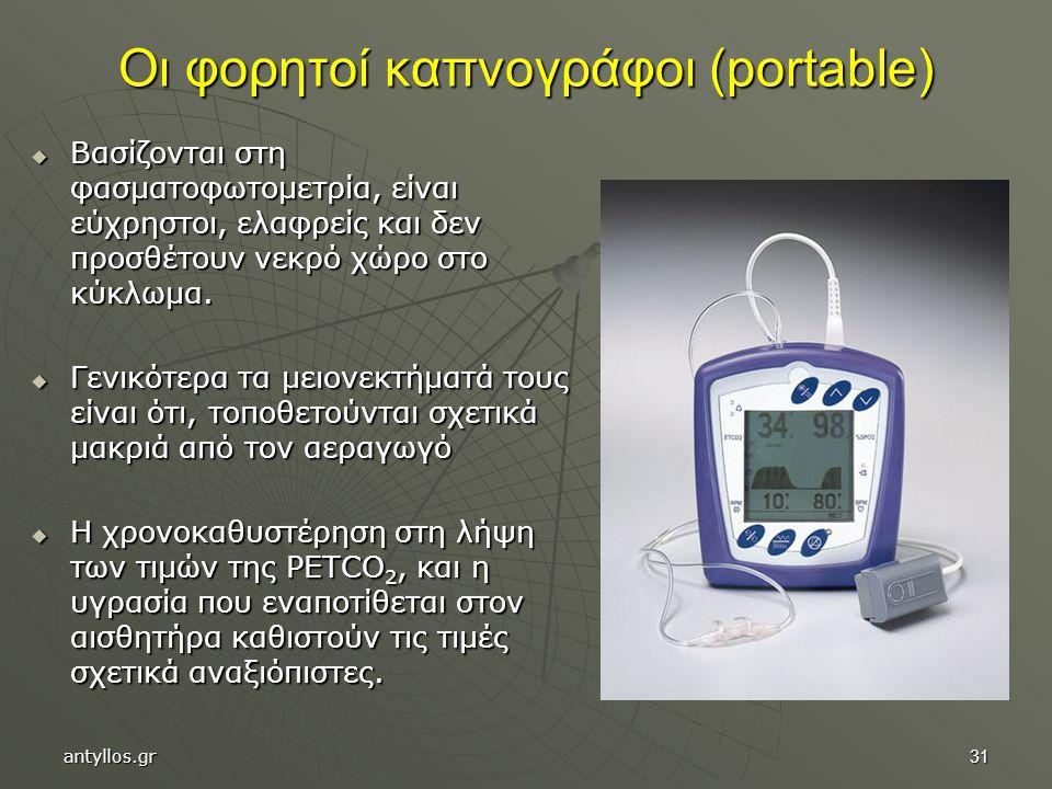 Οι φορητοί καπνογράφοι (portable)
