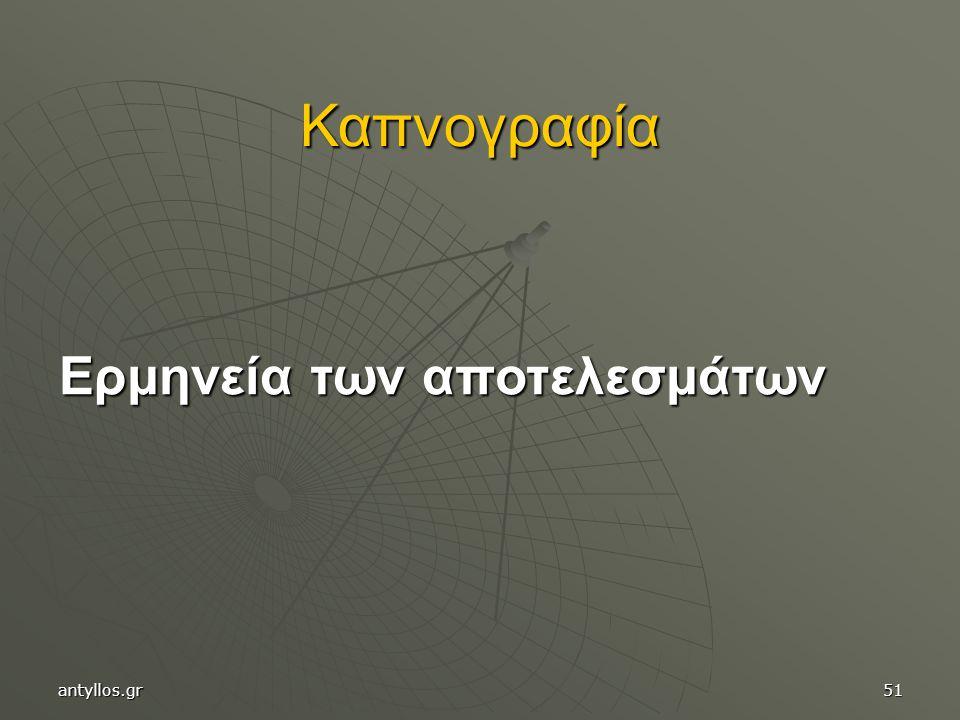 Καπνογραφία Ερμηνεία των αποτελεσμάτων antyllos.gr