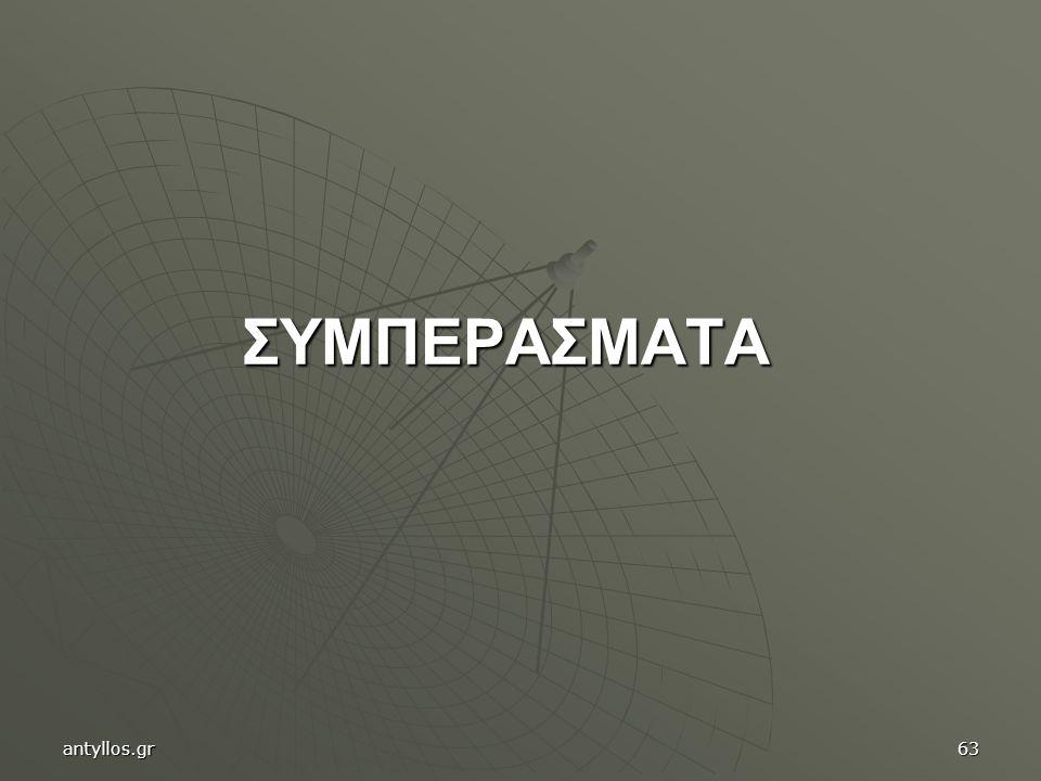 ΣΥΜΠΕΡΑΣΜΑΤΑ antyllos.gr