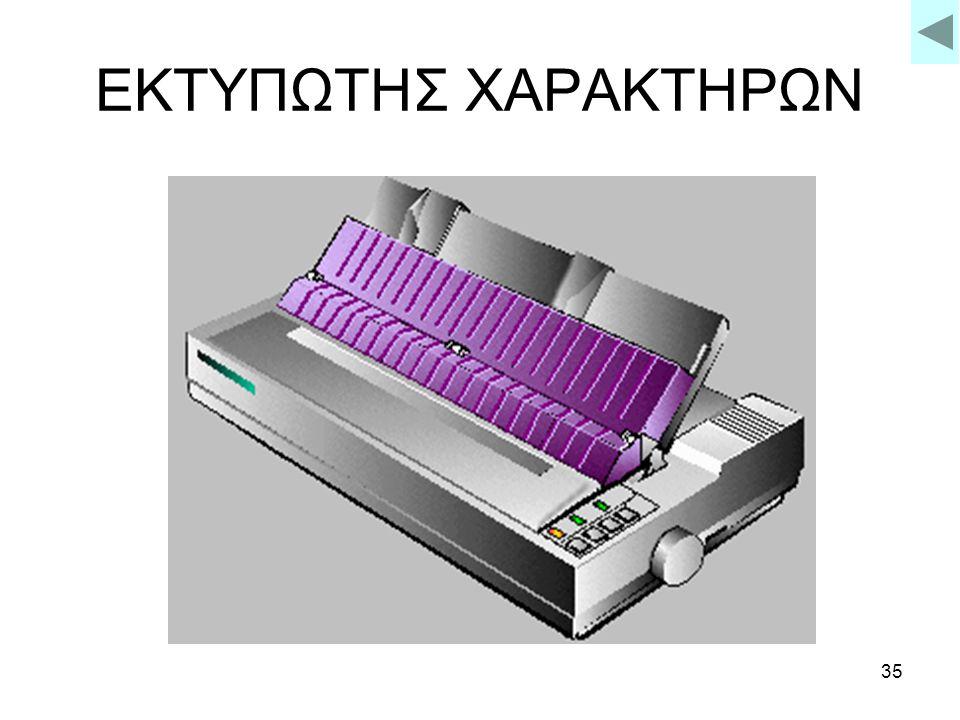 ΕΚΤΥΠΩΤΗΣ ΧΑΡΑΚΤΗΡΩΝ