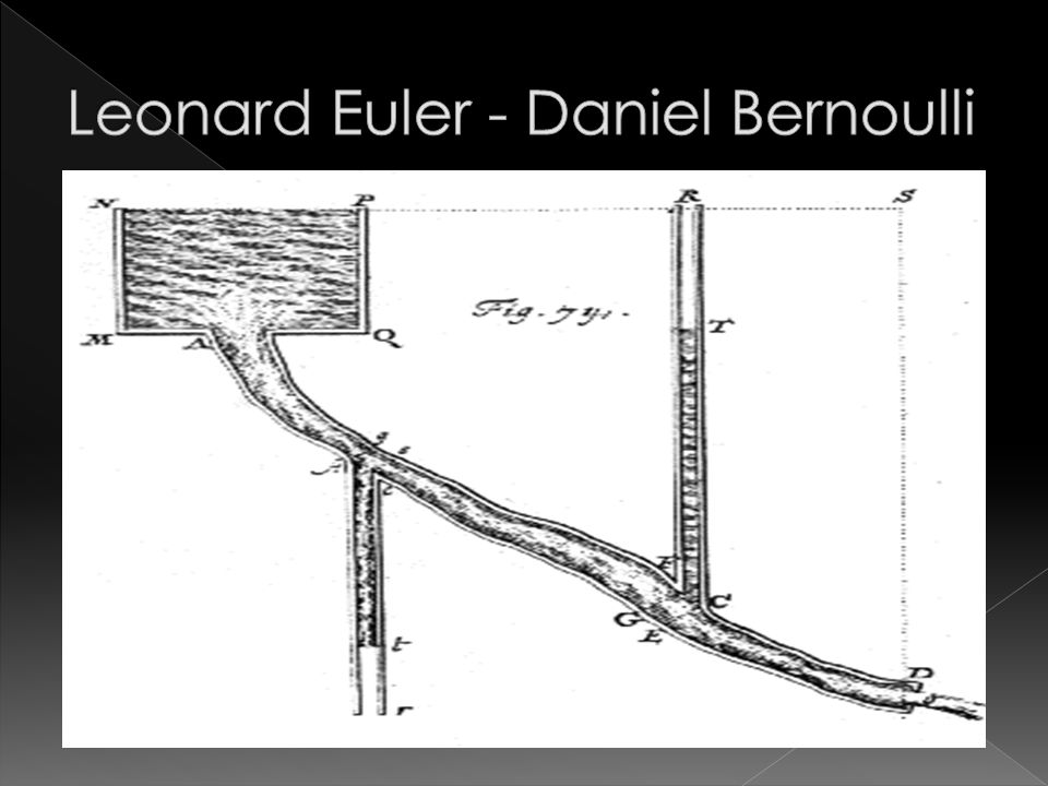 Leonard Euler - Daniel Bernoulli