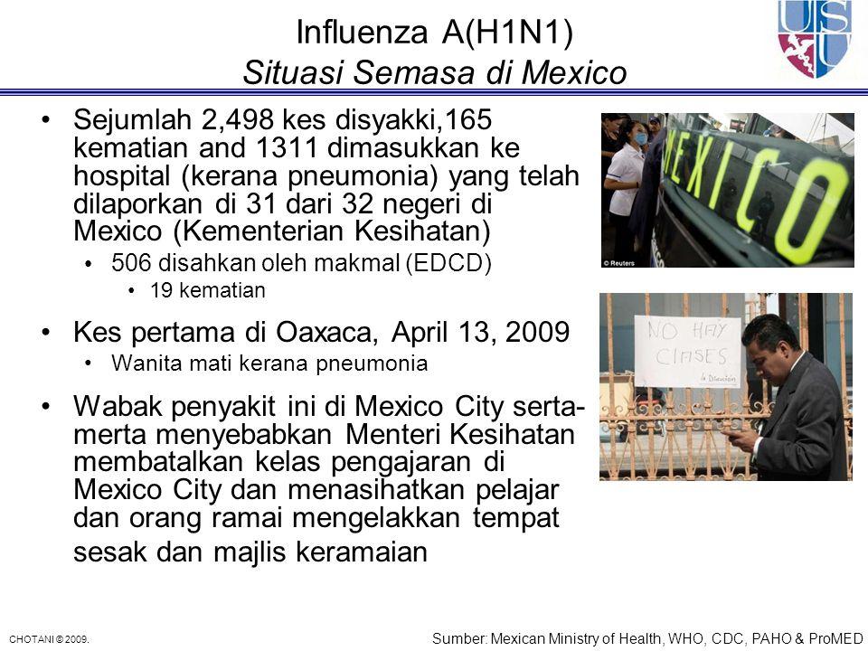 Influenza A(H1N1) Situasi Semasa di Mexico