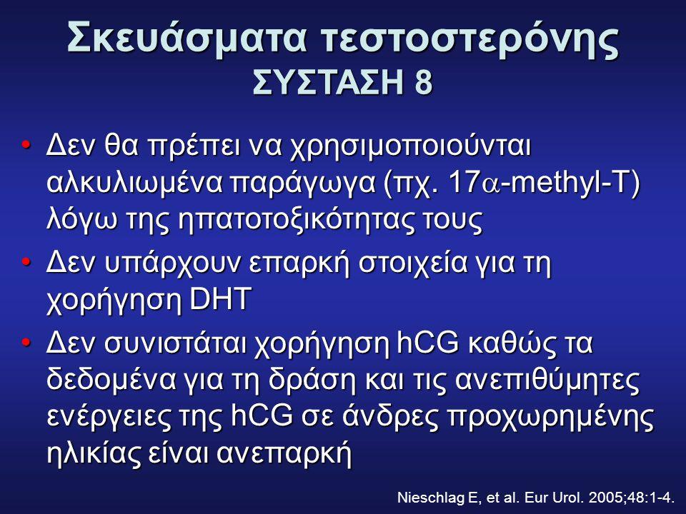 Σκευάσματα τεστοστερόνης ΣΥΣΤΑΣΗ 8