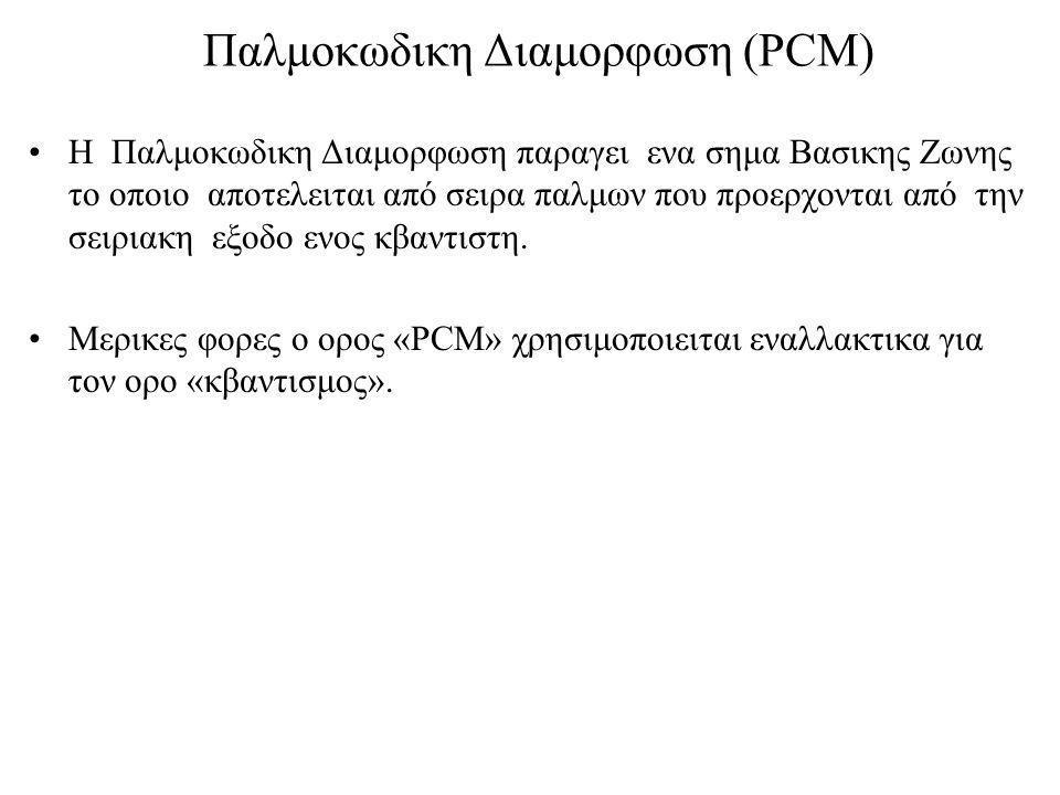 Παλμοκωδικη Διαμορφωση (PCM)
