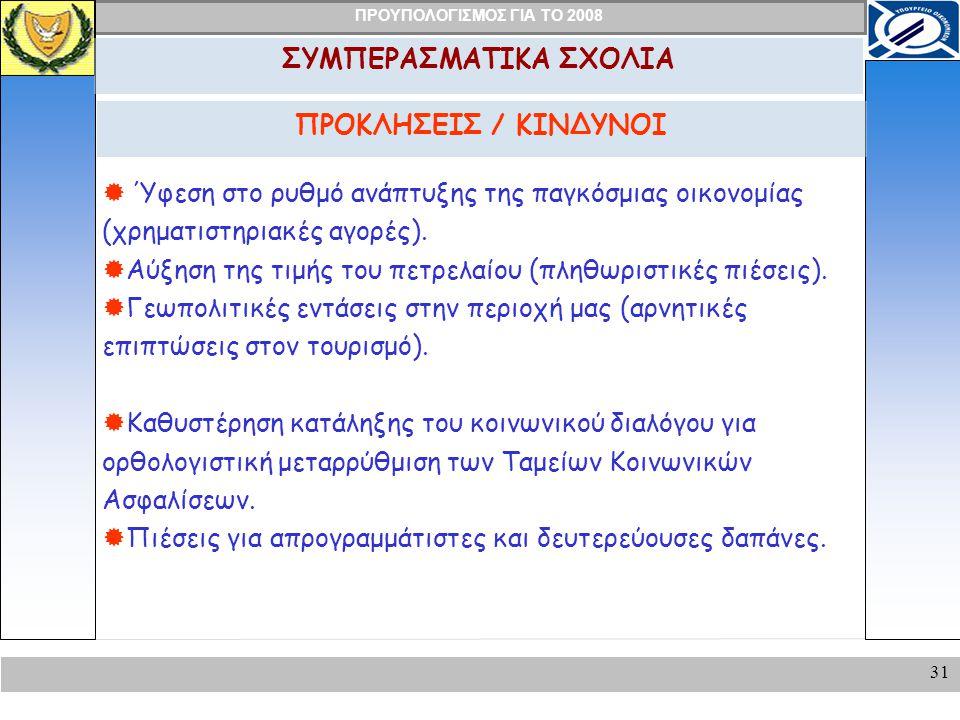 ΣΥΜΠΕΡΑΣΜΑΤΙΚΑ ΣΧΟΛΙΑ