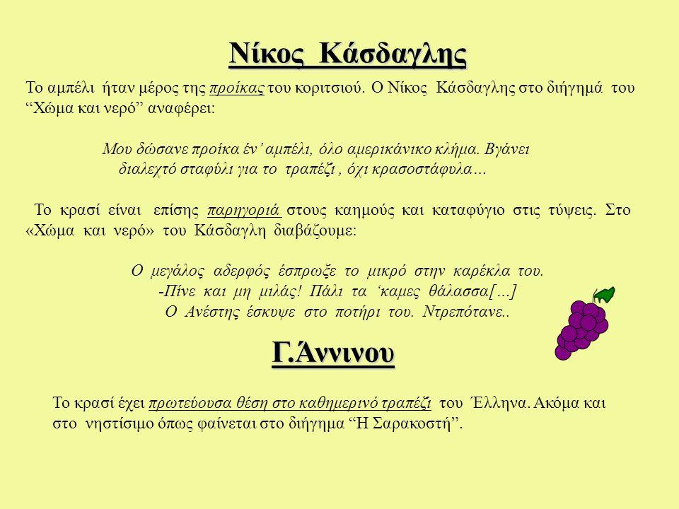 Νίκος Κάσδαγλης Γ.Άννινου