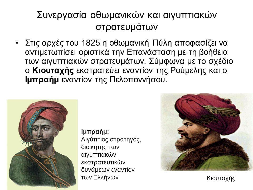 Συνεργασία οθωμανικών και αιγυπτιακών στρατευμάτων