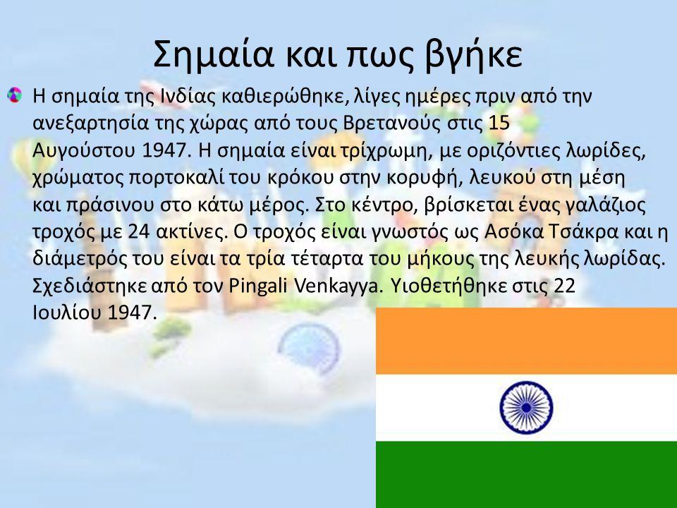 Σημαία και πως βγήκε