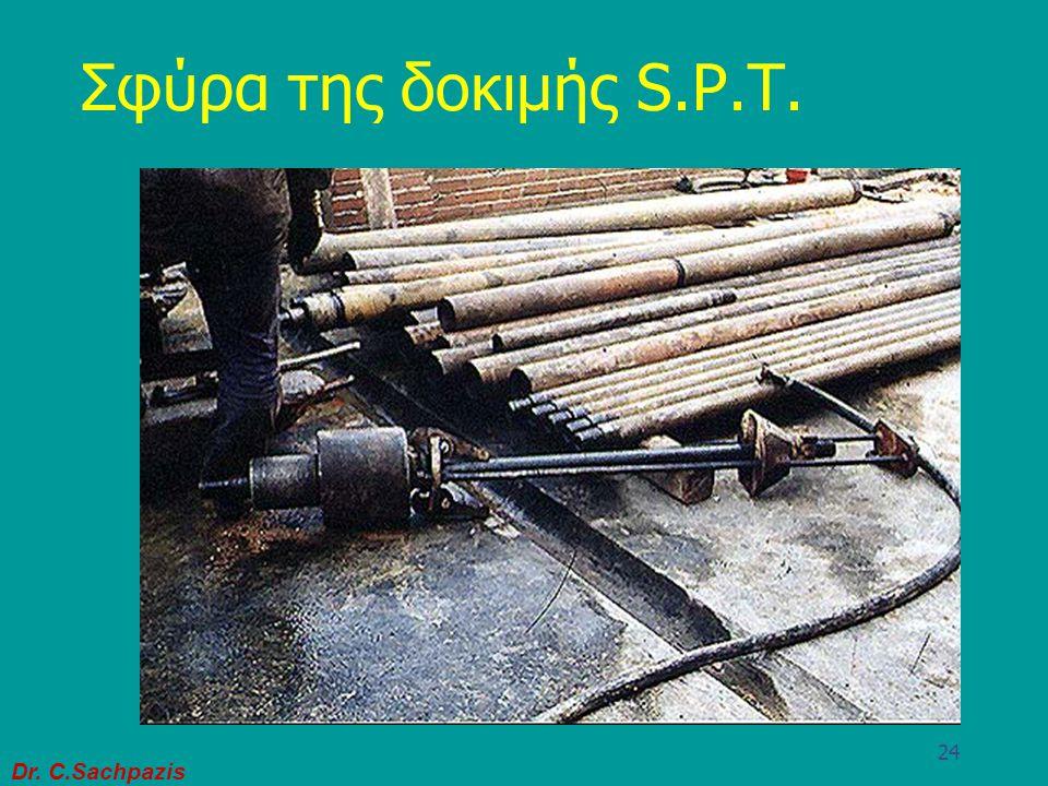 Σφύρα της δοκιμής S.P.T.