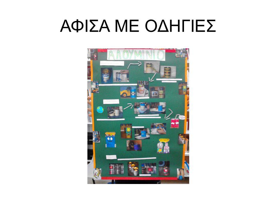 ΑΦΙΣΑ ΜΕ ΟΔΗΓΙΕΣ