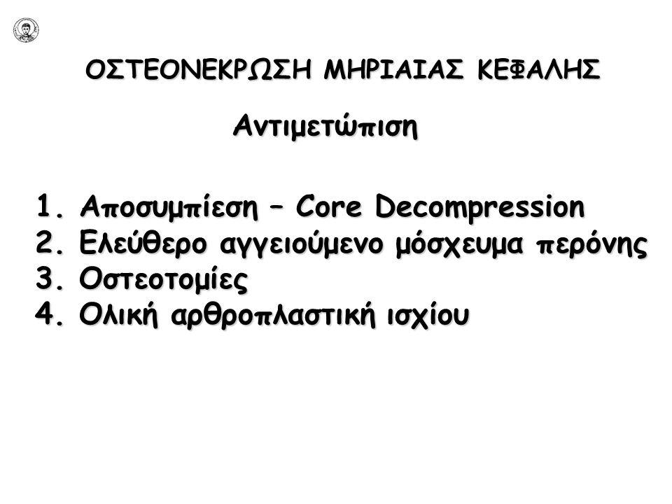 1. Αποσυμπίεση – Core Decompression