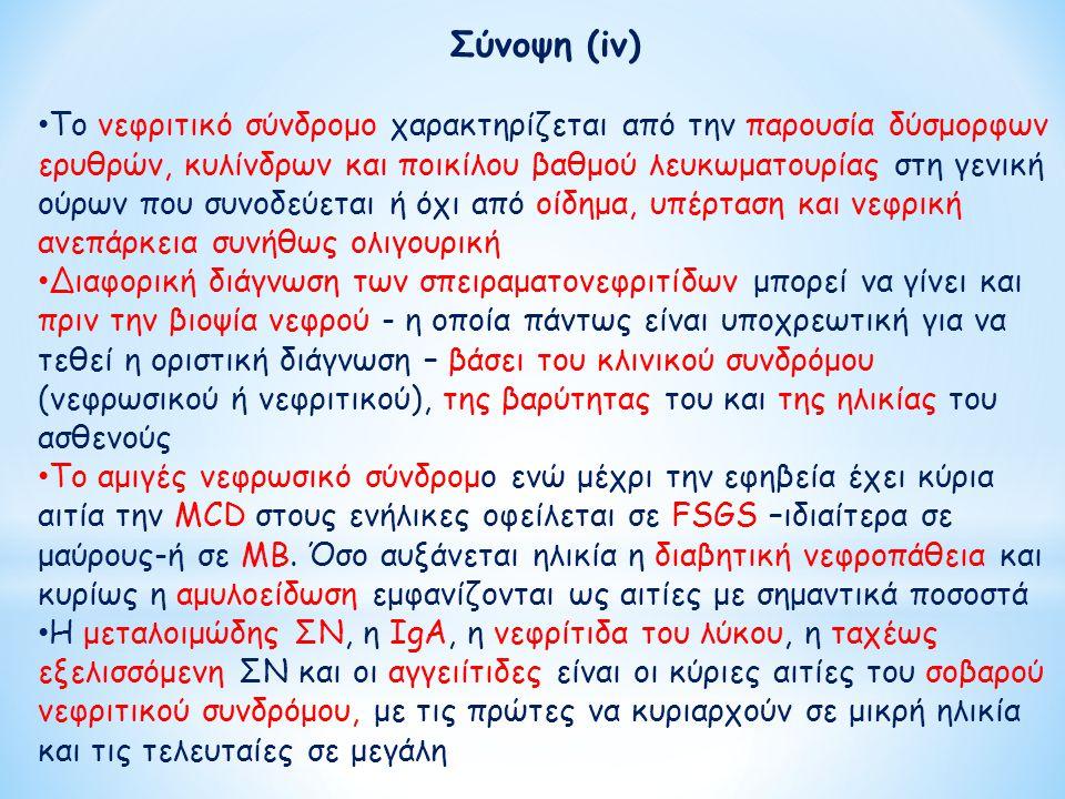 Σύνοψη (iv)