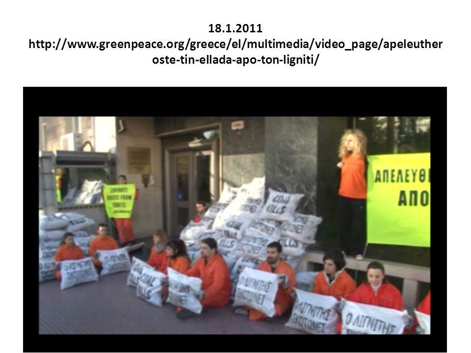 18. 1. 2011 http://www. greenpeace